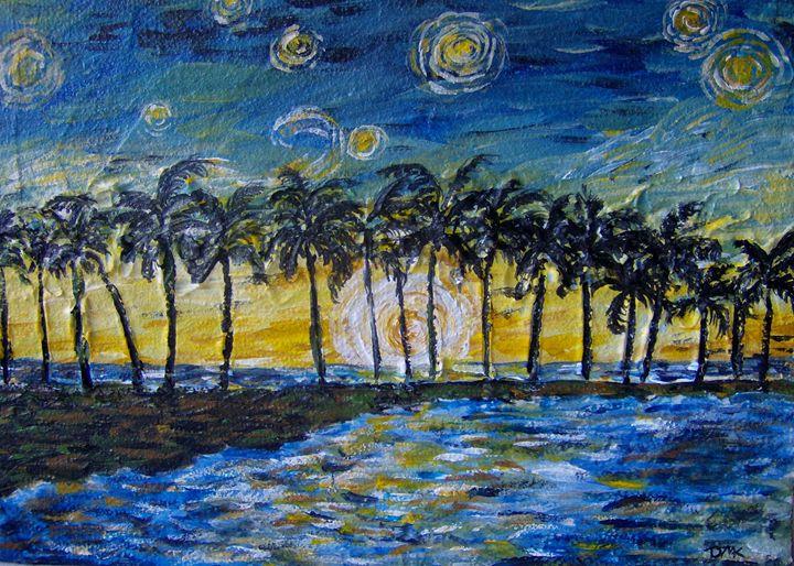 Impressionist Ocean - DmkArt