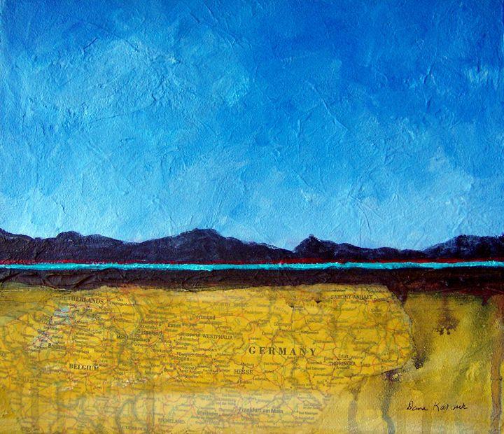 Abstract Landscape 2 - DmkArt