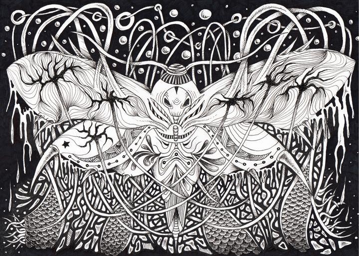 Death Hawkmoth - Adelacreative