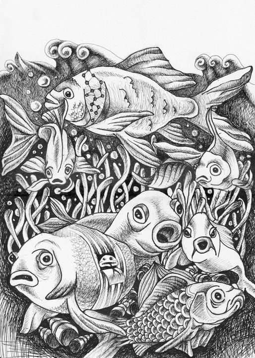 Fish Gang - Adelacreative