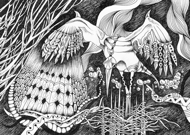 Guardian Stork - Adelacreative