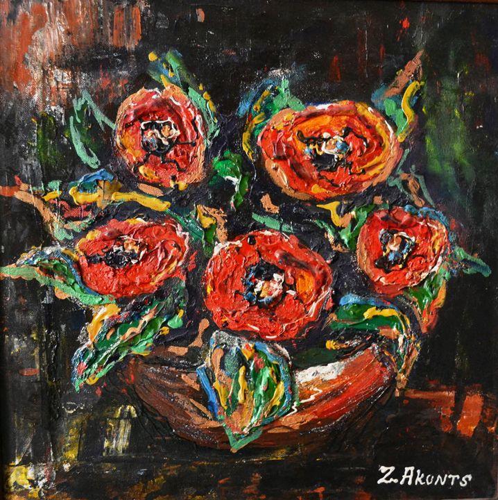 """""""Poppies"""" - Akunts Gallery"""