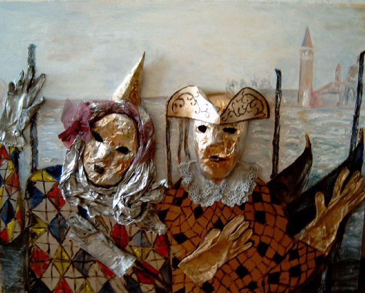 """Venice Carnival"" - Akunts Gallery"