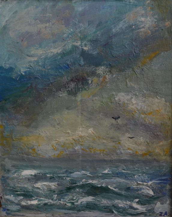 """Stormy Day"" - Akunts Gallery"