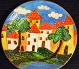 Original Handmade Decorative Plate