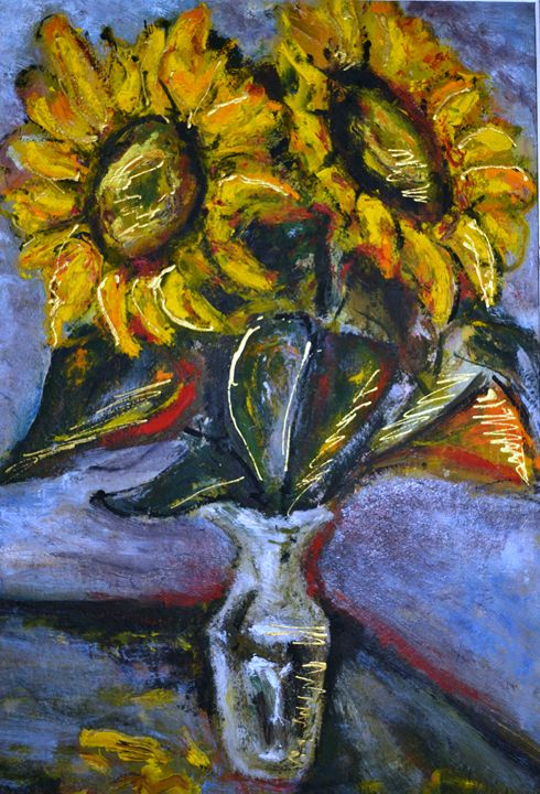 """Sunflowers"" - Akunts Gallery"
