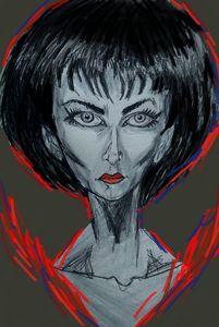 Meg's portrait