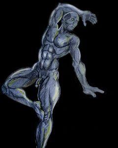 Avid Light figure study
