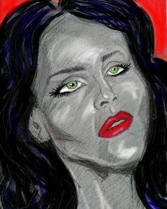 Dana's portrait