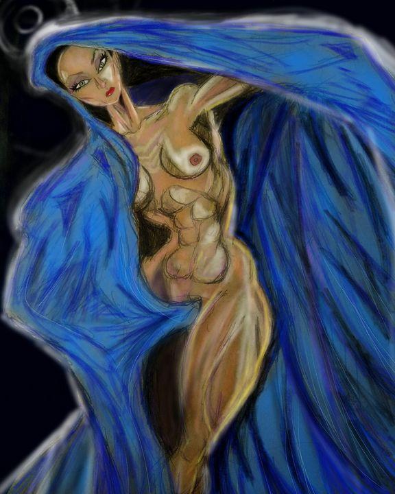 Blue cloak - Mark45xxx