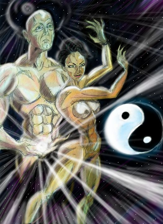Avid and Sarah yin and  yang - Mark45xxx