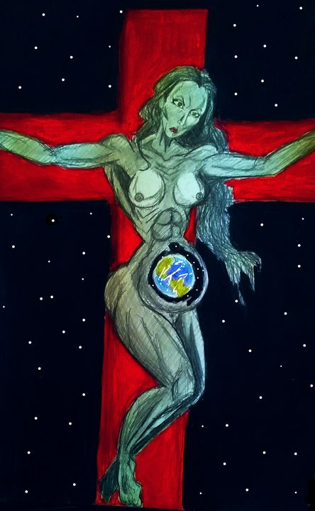 The crucifixion of gaia - Mark45xxx