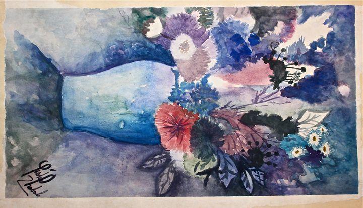 Exploding Flowers - YK Paintings