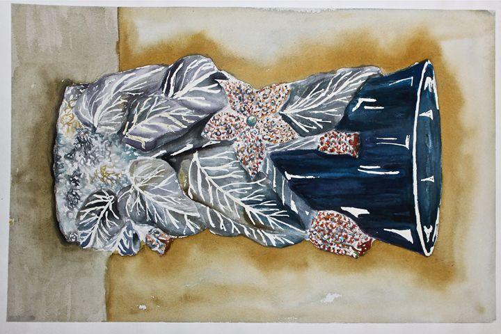 Metallic ornament - YK Paintings