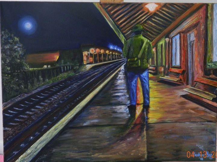 Lonely traveller - Madhuri Nag