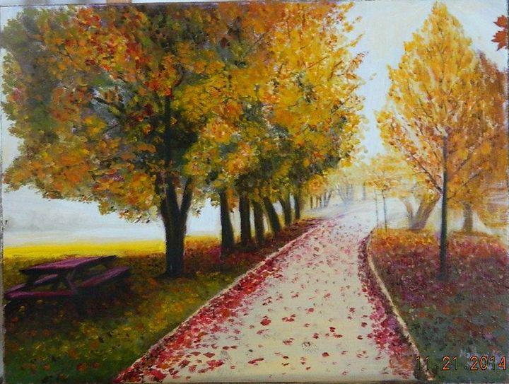 Fall is colorful - Madhuri Nag