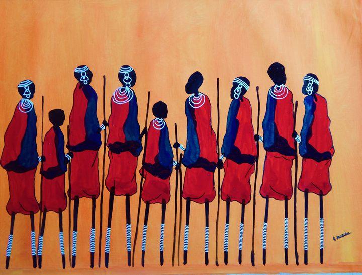 Masai Tribe - Kenya - Richard Mubiru
