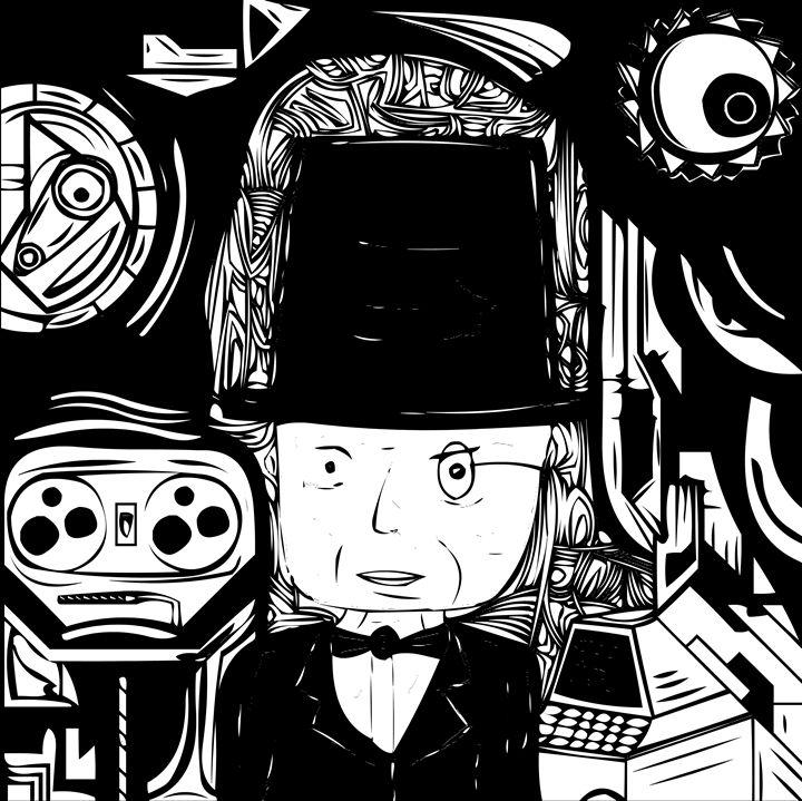 The gentleman in the server room. - Kuba Niezgoda