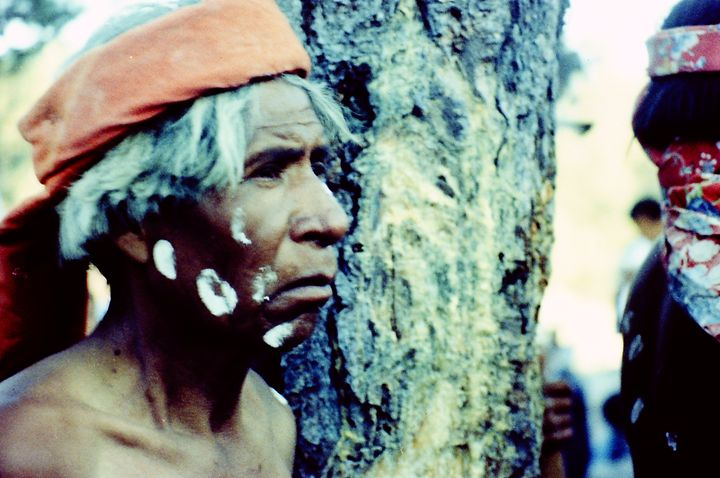 An Old Indian Tarahumara - SIERRA TARAHUMARA PICTURES