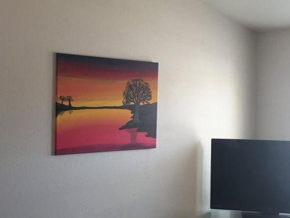 Sunset Tree - Woobensee