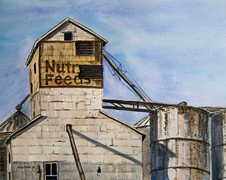 Nutrena Feeds, Palestine, Illinois - Douglas Hudson Art