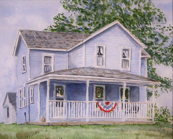The Baum Family Home - Douglas Hudson Art