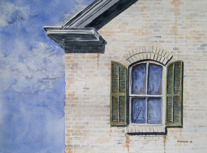 Upper Window - Douglas Hudson Art
