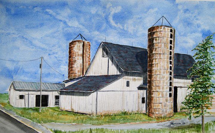 the old Steiner Barn - Douglas Hudson Art