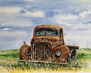 1941 International, Shamrock, Texas