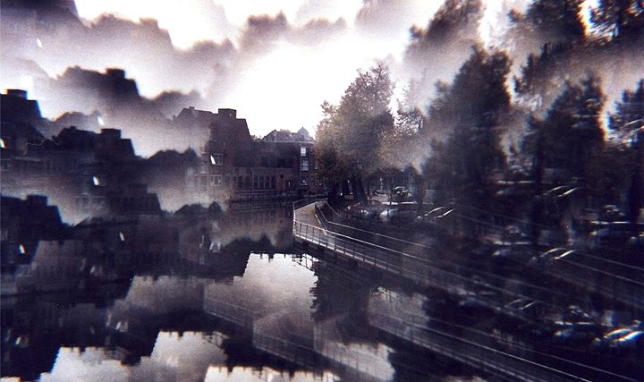Mechelen, river view - Quentin Haslam