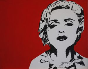 Madonna Pop Art Paining