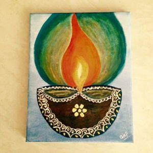Spiritual Diya(Light)
