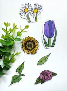 Flowers Sticker Set