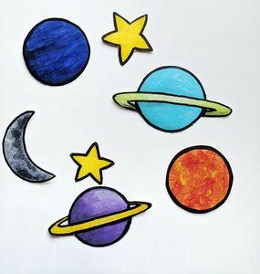 Planets Sticker Set
