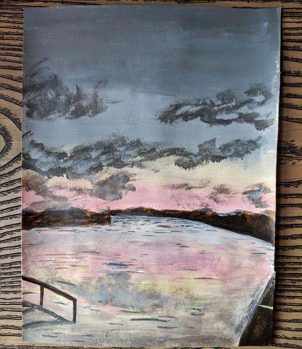 Lakeside Twilight {SOLD OUT} - Becca J Art