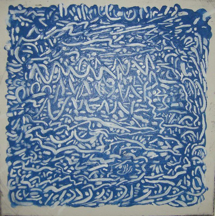 Blue cordite - Kadal Axe Acrylics