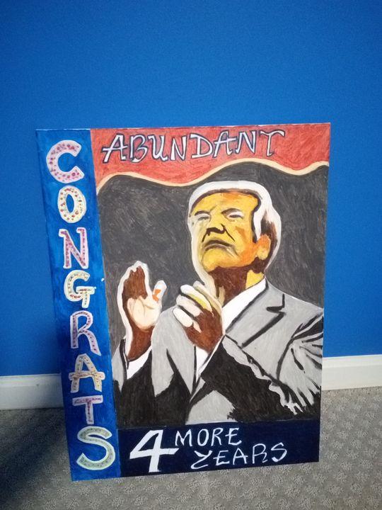 Trump re-elected - Joseph