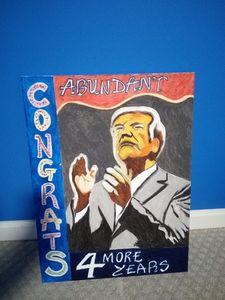 Trump re-elected