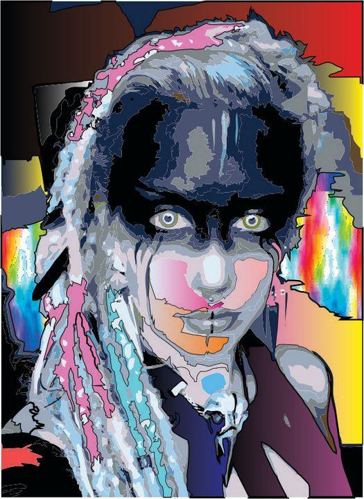 fantasy art - pop art by raonny renno