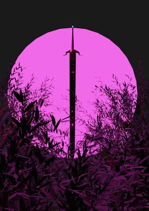 The Sword in the Ferns - Zannat Digital