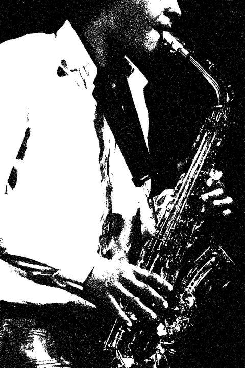 Saxophone - Alan Harman Photography