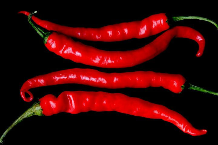 Four Red Chilies - Alan Harman Photography