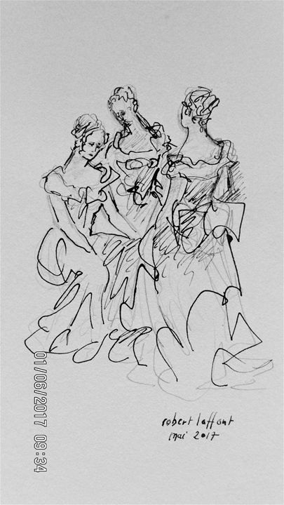 three women in early XIX - robert laffont