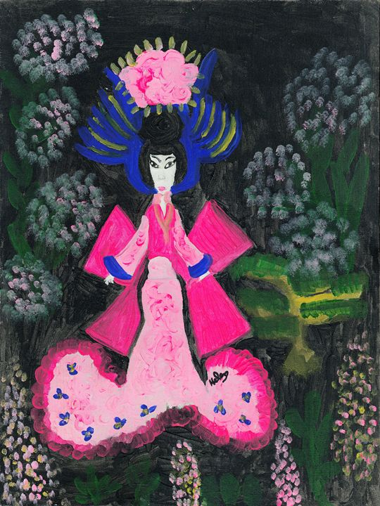 Geisha - Helen Johnson's Prints