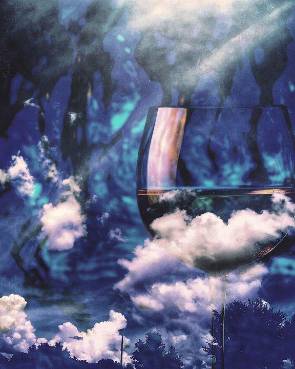Wine clouds - Harold Jones