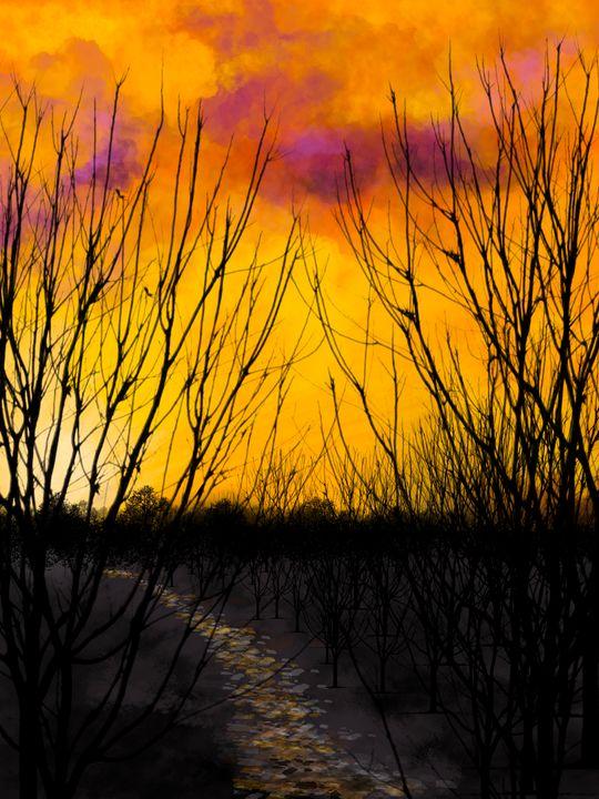 Yellow night - Harold Jones
