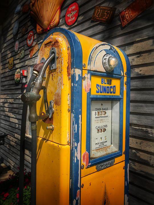 Gas pump - Harold Jones