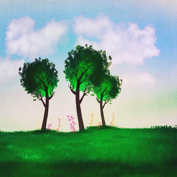 Three tree - Harold Jones