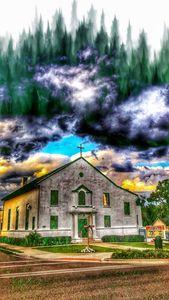 Green tree church