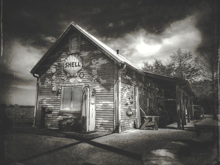 Black and white shell - Harold Jones